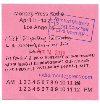 DIABP on Montez Press Radio at L.A.A.B.F.