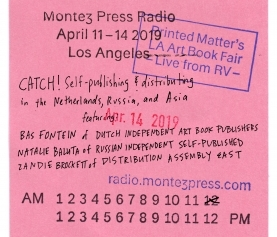 DIABP on Montez Press Radio at L.A.A.B.F.